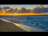 Футаж Закат над морем - Footage Sunset over the sea