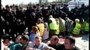 Охранники избили активистов в Шиесе