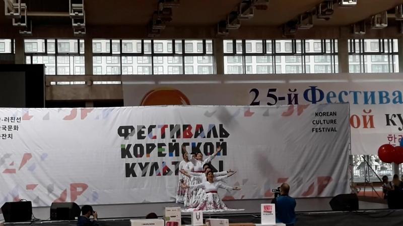 12.06.2018. 25 фестиваль корейской культуры. Танцевальный коллектив Бом парам