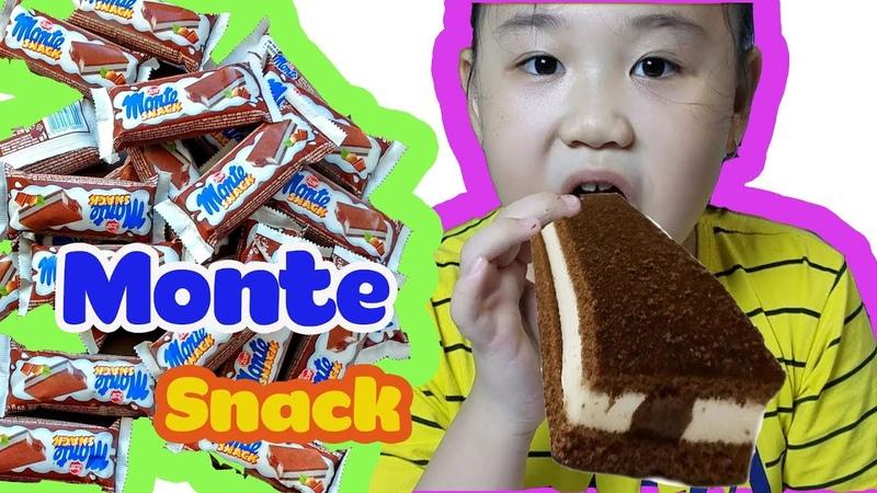 Ăn thử hết bánh kem sữa socola Monte Snack, chỉ nhìn cũng thèm rồi