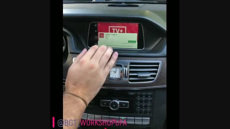 Mercedes W212 E-Klass android с сенсорным стеклом