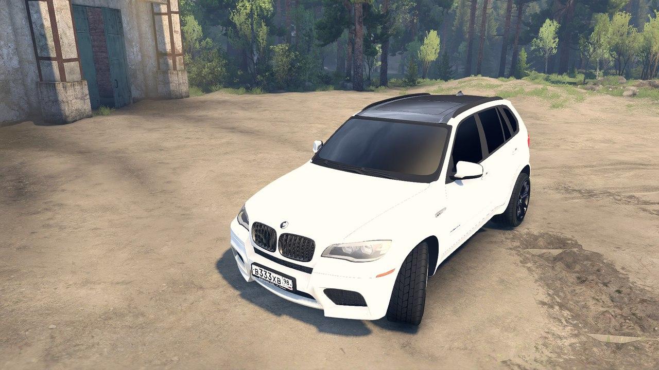 BMW X5 для 13.04.15 для Spintires - Скриншот 1