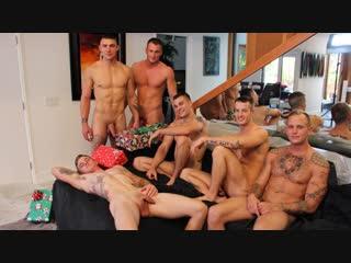 Activeduty - christmas  - 6 man orgy (quentin gainz, craig cameron, ryan jordan, ripley grey, princeton price & zack matthews)