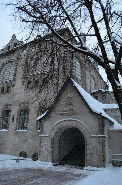 Здание Сберкассы (1913 г.) Днём.