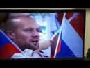 Тимофей поет гимн на матче Сборная России сборная Хорватии