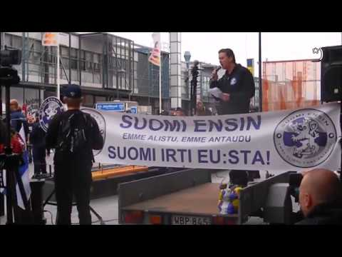 Suomi Ensin! - Mario ITIS2 - in English, Helsinki 05.08.2016