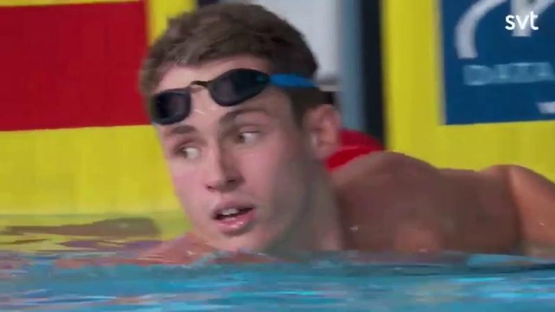BEN PROUD 21.11 50M FREESTYLE SEMI FINAL European Championships Glasgow 2018.
