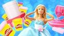 Играем в куклы Барби. Сборник видео для девочек.
