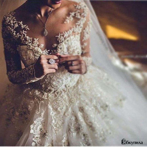 Нежно и изысканно...Очень красивое свадебное платье! ✨