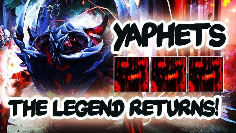 YaphetS World's Best Shadow Fiend in DotA returns! EPIC Gameplay Dota 2