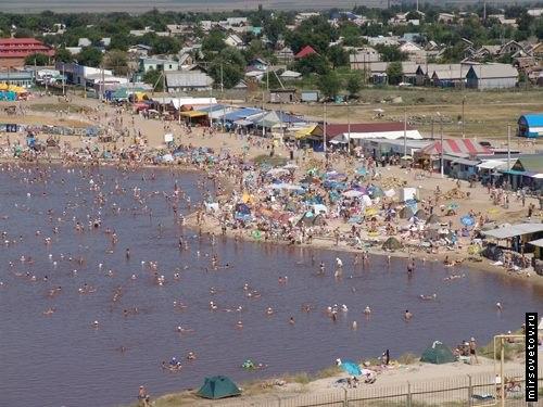 Озеро Развал, Соль-Илецк.