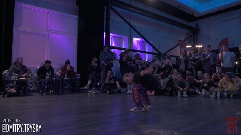 Стёпа Vs Toxic Semifinal Hip-Hop Young Dancer HIP-HOPE 18-11-18