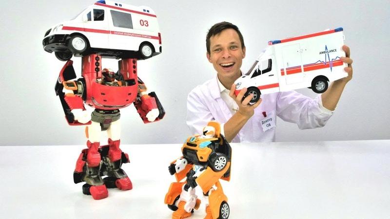 Видео про машинки. Тобот и новый мотор. Игры для мальчиков