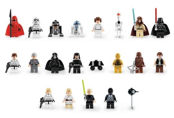 минифигурки lego star wars