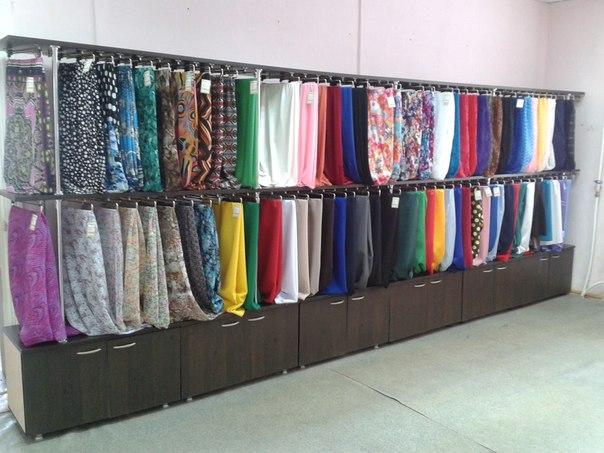 Купить ткань в магазине в розницу дешево