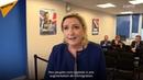 Acte de trahison le Pen demande Macron de ne pas signer le pacte de l'ONU sur les migrations