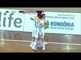Brasil 4 x 4 Argentina - Gols - Amistoso Internacional de Futsal -Desafio das Am