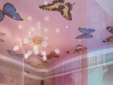 💗 Натяжные потолки в детскую комнату - натяжной потолок с изюминкой