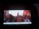 Группа «Мумий Тролль» на закрытии фан-зоны ЧМ в Калининграде 2018 г. Девочка