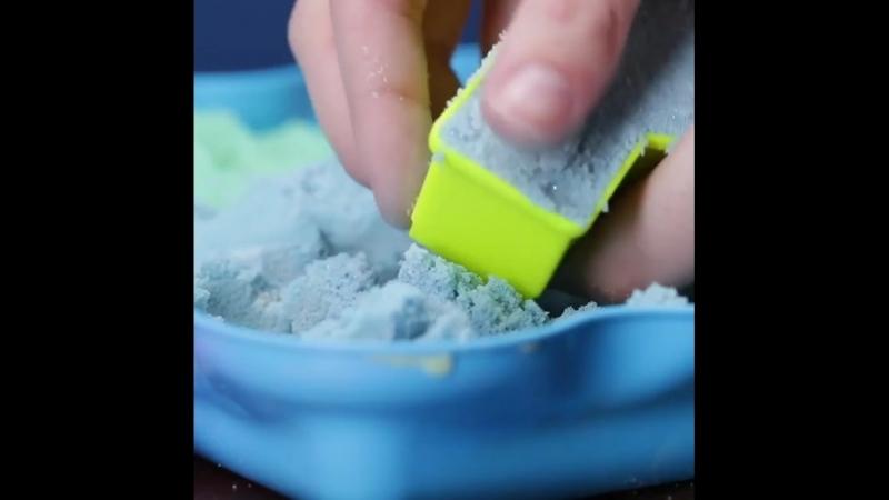 Кинетический песок для деток своими руками