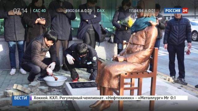 Новости на Россия 24 Япония отзывает своего посла в Южной Корее