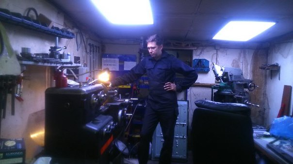 Подсветка в гараж 117