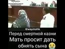 Перед смертной казни Мать просит дать обнять Сына!