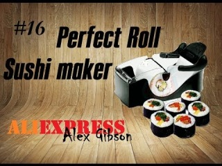Товары из Китая #16. Aliexpress. Perfect roll sushi maker