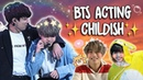 BTS INNOCENT CHILDISH MOMENTS