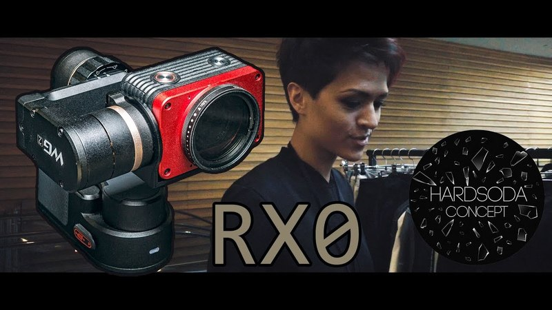 FeiyuTech FY-WG2 Sony RX0 footage for Hardsoda Concept Concept Market