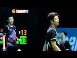 It's never over ! Incredible defense(s) by Lee/Yoo vs Boe/Mogensen - BWF World Super Series Finals