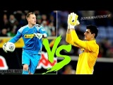 Marc-Andre Ter Stegen vs Thibaut Courtois - FOOTBALL BATTLES | 2014 HD
