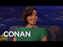 Aubrey Plaza's Parks and Rec Birthday Reunion CONAN on TBS