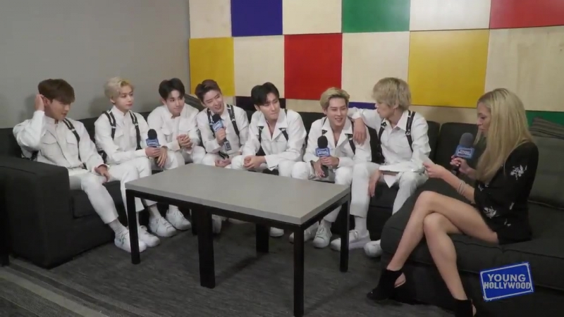 [VK][180813] MONSTA X Interview @ Young Hollywood