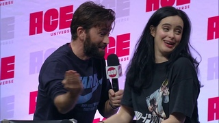 Krysten Ritter and David Tennant panel at the 2019 Ace Comic Con Arizona
