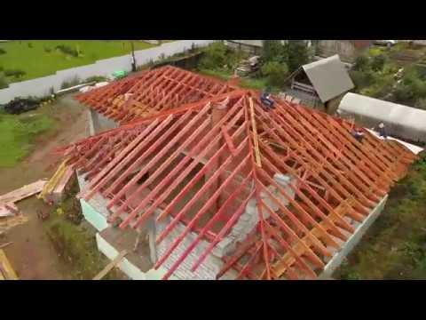 Строительство дома из газоблока с утеплением