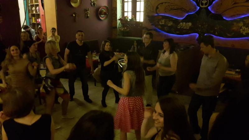 Вечеринка в гастробаре Амигос
