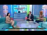 Ольга Шестакова в программе Хорошее утро на телеканале Санкт-Петербург.