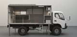 Съемный жилой модуль для грузовика Mitsubishi Fuso Canter