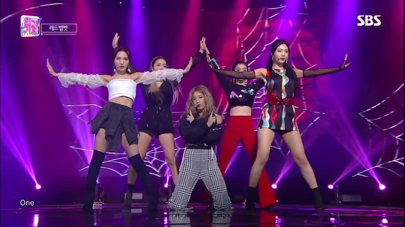 Red Velvet - RBB (Really Bad Boy) @ Inkigayo 181216