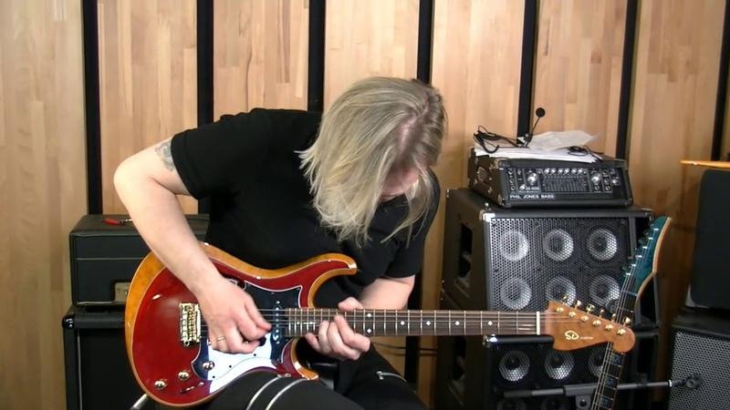 SD guitars - knaggs one