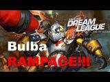 Bulba Clockwerk RAMPAGE - Liquid vs NaVi Dota 2.