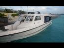В аэропорту Мальдив рядом с Мале Speedboat скоростная лодка