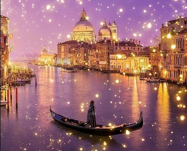 Ночное мерцание Венеции