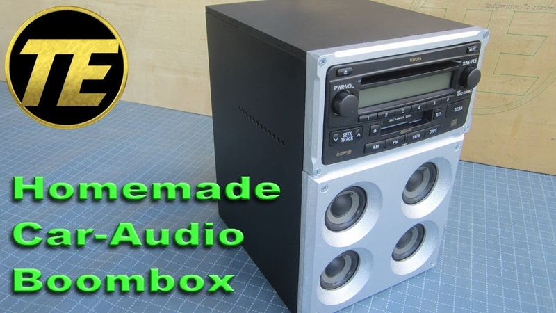 Homemade Car-Audio Boombox