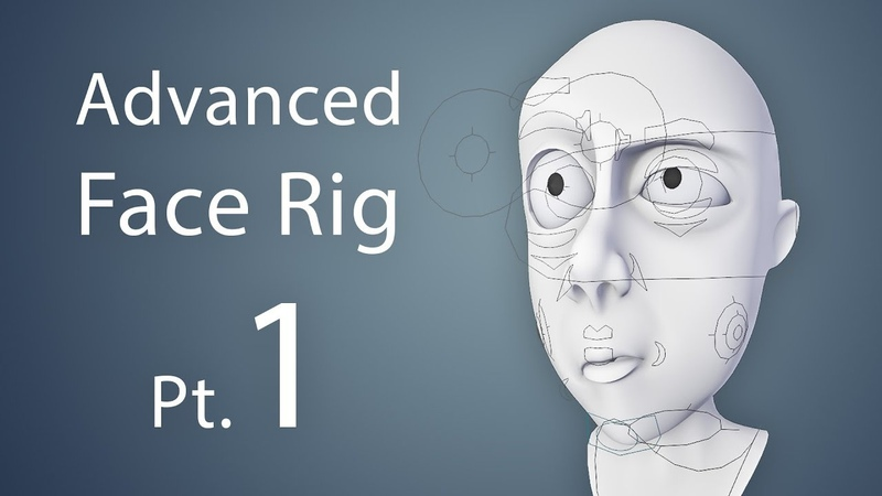 CGCookie: Creating an Advanced Face Rig Pt. 1 (Blender 2.6)