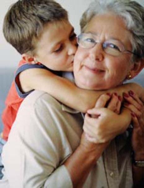 фото внука и бабушку