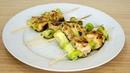 Шашлык из курицы с кабачками. Вкусный, простой рецепт. Рецепты блюд с кабачками 3 серия.