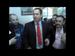 Алексей Муратов на учредительном съезде Партии МММ