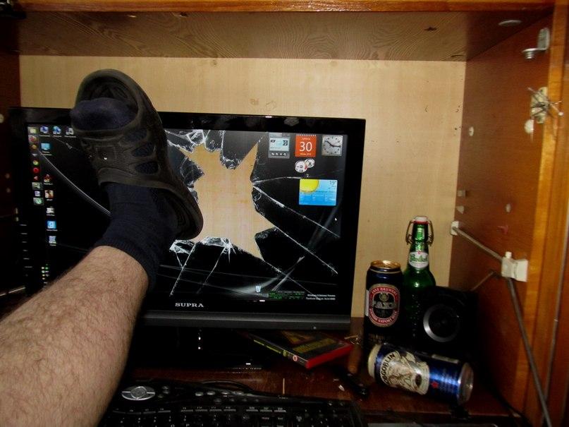 Разбила ноутбук получила наказание 10 фотография